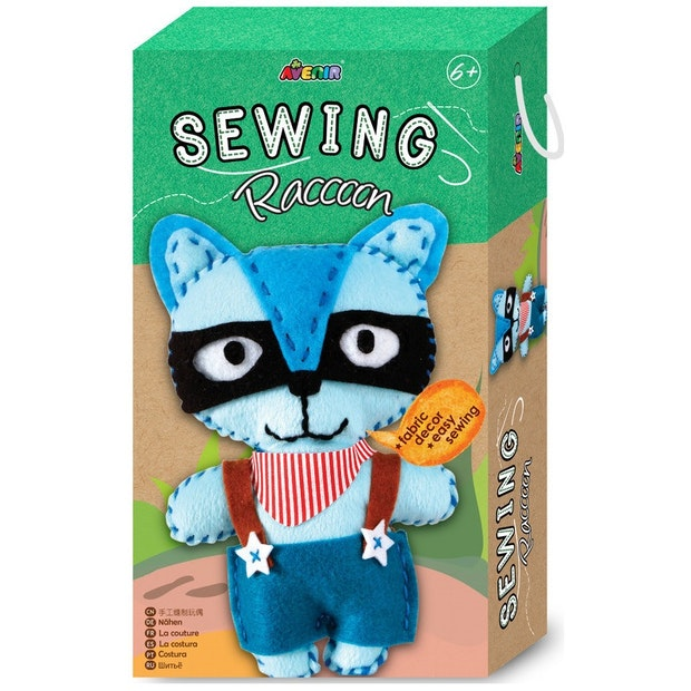 Avenir - Small Sewing Kit - Raccoon