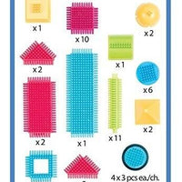 Bristle Blocks - Basic Builder Box - 56pc