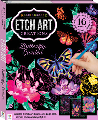 Hinkler - Kaleidoscope Etch Art Creations - Butterfly Garden
