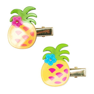 Pink Poppy - Tropical Pineapple Hairclip