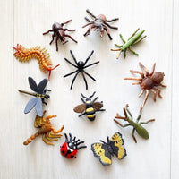 CollectA - Box Of 12 Mini Animals - Insects & Spiders
