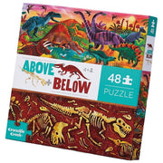 Crocodile Creek - Above + Below Dinosaur World - 48pc