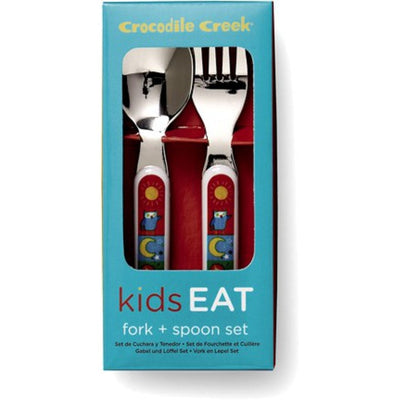 Crocodile Creek - Cutlery Set - Kids World