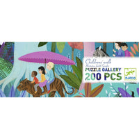 Djeco - Puzzle Gallery - Children's Walk 200pc