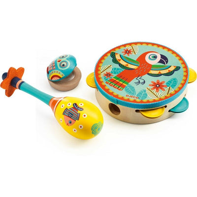 Djeco - Animambo Instrument  Set - 3Pc
