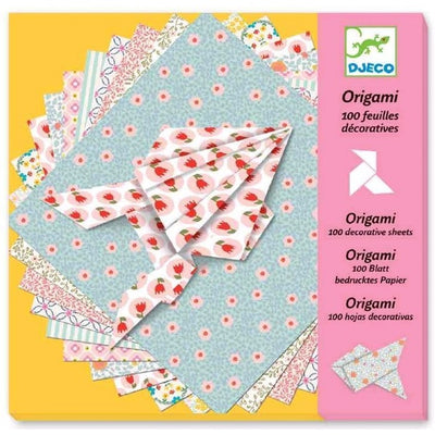 Djeco - Origami - 100 Decretive Sheets