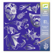 Djeco - Scratch Art Stickers - Iron