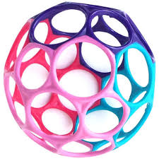Oball - Classic - (Pink/Purple/Blue)