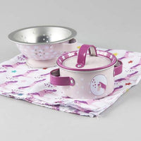 Floss & Rock - Tin Kitchen Set - Unicorn 8pc