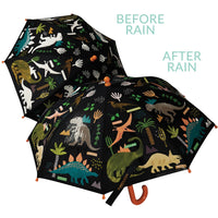 Floss & Rock - Colour Changing Umbrella - Dinosaurs