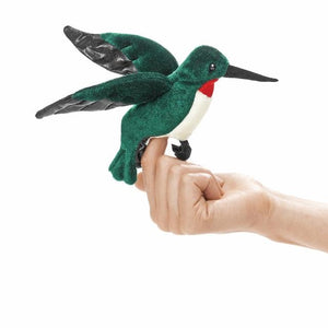 Folkmanis Puppets - Mini Humming Bird Finger Puppet