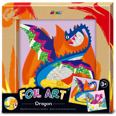Avenir - Photo Frame - Foil Art - Dragon