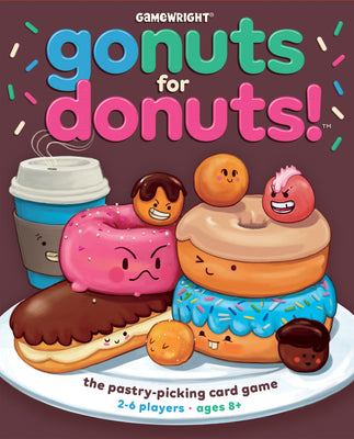 Gamewright - Go Nuts For Doughnuts!