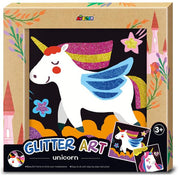 Avenir - Photo Frame - Glitter Art - Unicorn