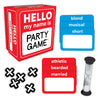 Gamewright - Hello My Name Is Party Game