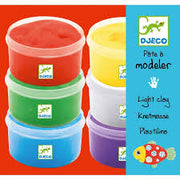 Djeco - Light Clay - 6 Pots