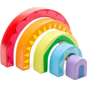Le Toy Van - Petilou - Rainbow Tunnel Puzzle