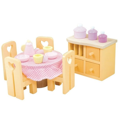 Le Toy Van - Sugar Plum - Dining Room Set
