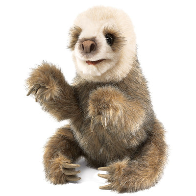 Folkmanis Puppets - Baby Sloth Hand Puppet