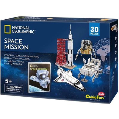 National Geographic - 3D Puzzle - Space Mission