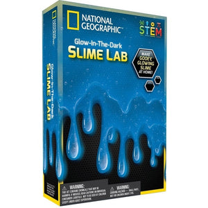 National Geographic - Glow In The Dark - Slime Lab (BLUE)