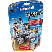 Playmobil - Pirates - Foil Bag Black Raider & Canon - 6165