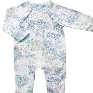 Albetta - Floral Print - Baby Grow