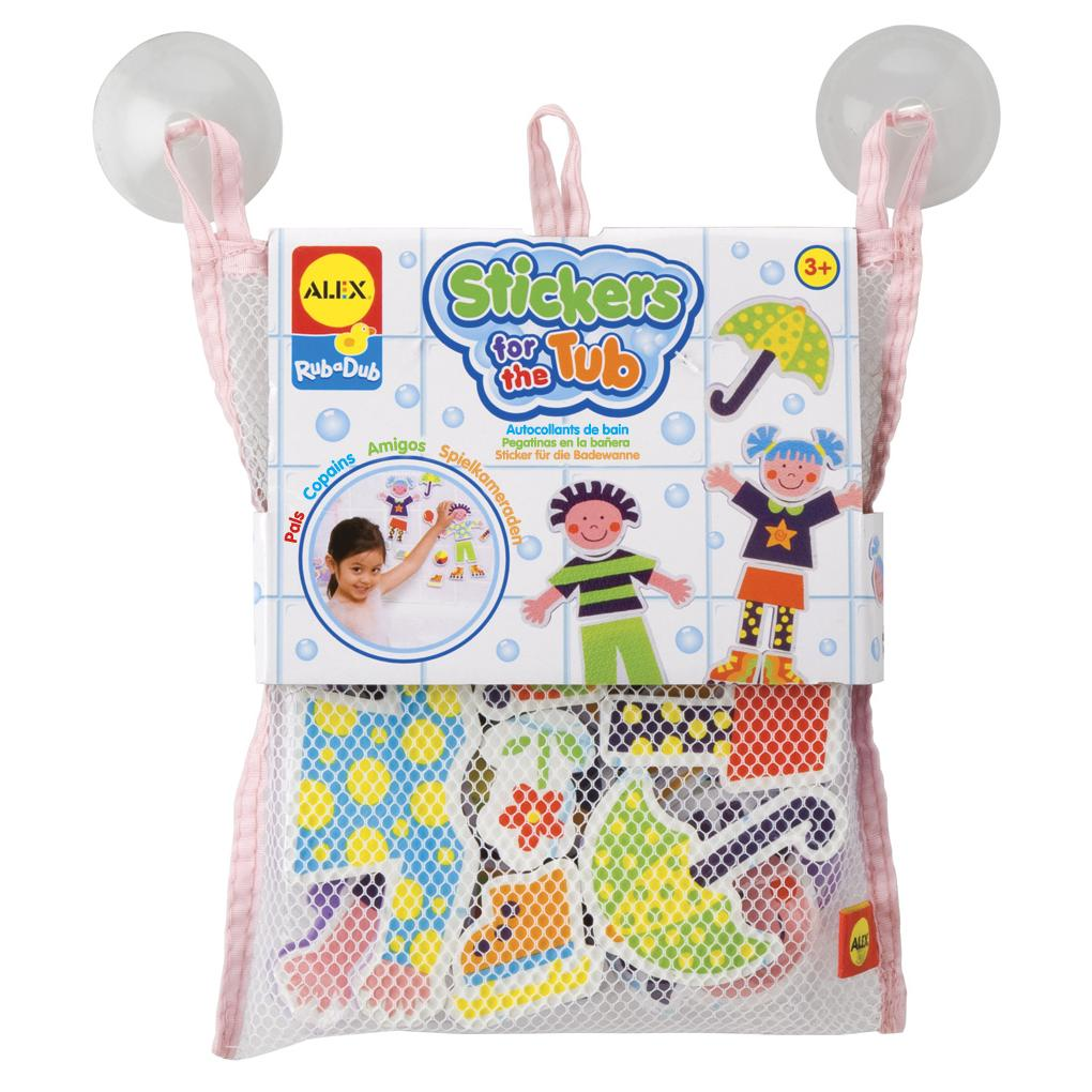 Alex Rub a Dub Bath Stickers - Pals