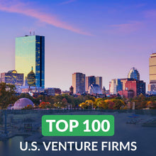 Venture Capital: Top 100 Venture Firms in the U.S. – Cover