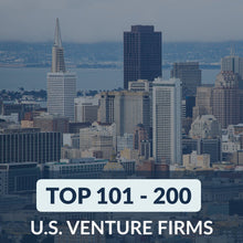 Venture Capital: Top 101 – 200 Venture Firms in the U.S. – Cover