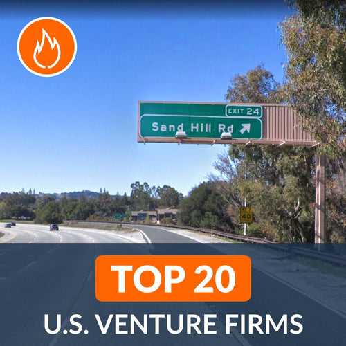 Venture Capital: Top 20 Venture Firms in the U.S. – Cover