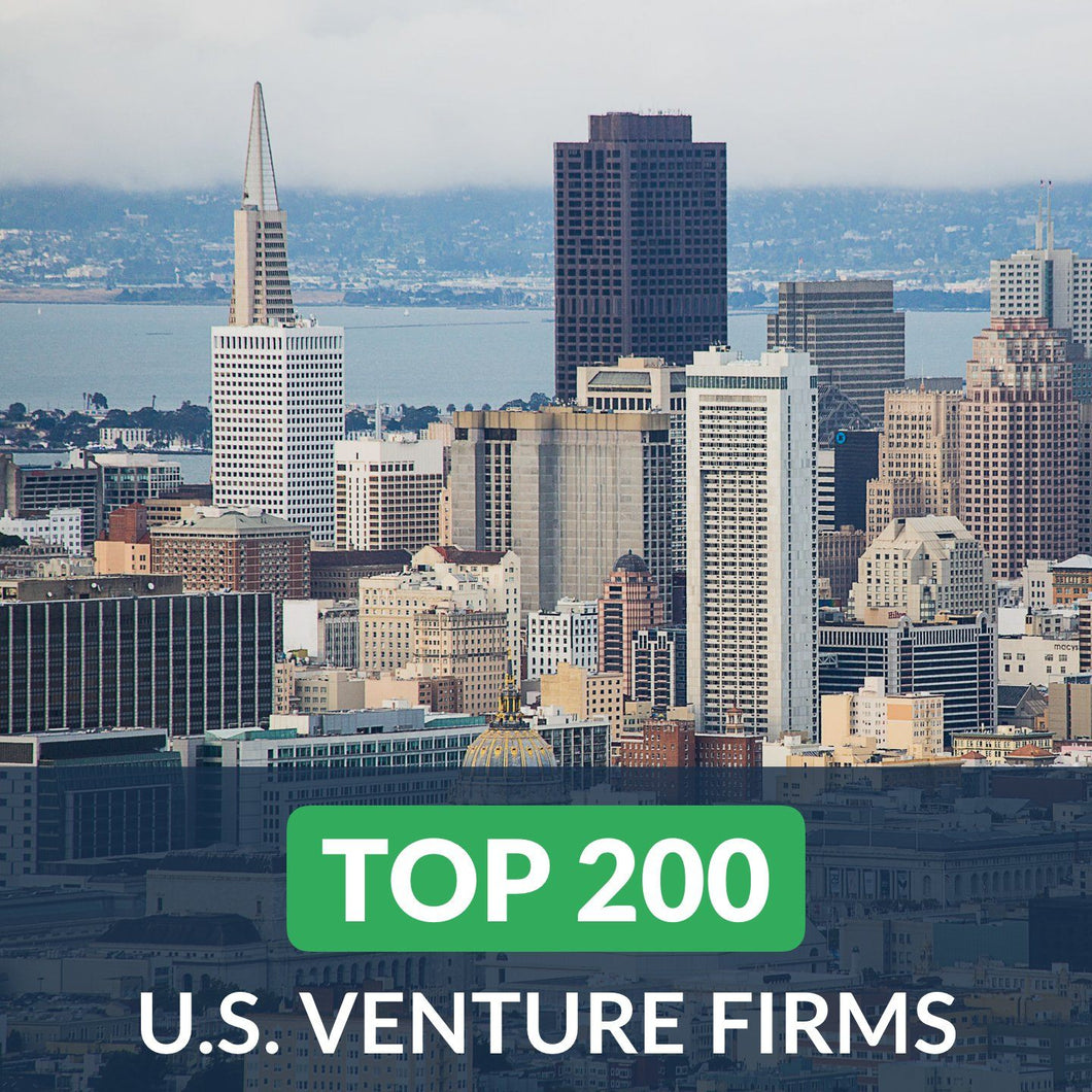 Venture Capital: Top 200 Venture Firms in the U.S. – Cover