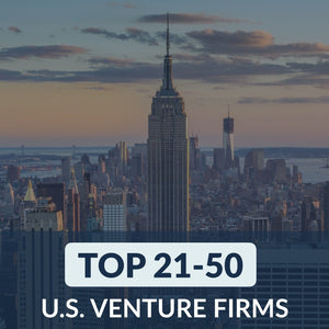 Venture Capital: Top 21 – 50 Venture Firms in the U.S. – Cover