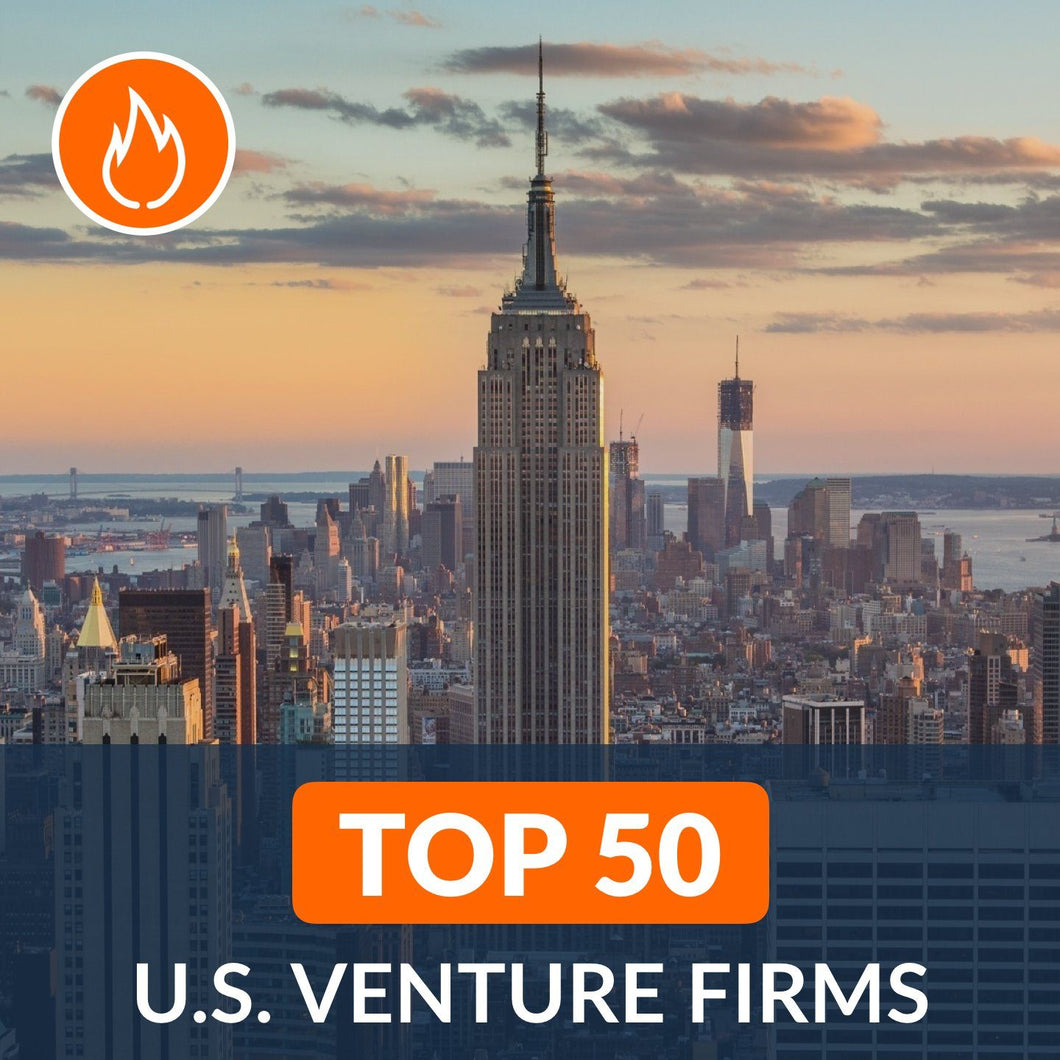 Venture Capital: Top 50 Venture Firms in the U.S. – Cover