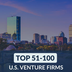 Venture Capital: Top 51 – 100 Venture Firms in the U.S. – Cover