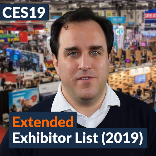 CES19: Extended Exhibitor List