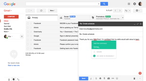 Grammarly in Gmail