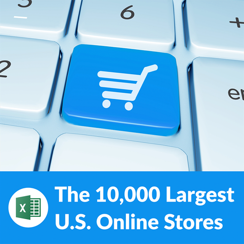 Top 10,000 Online Stores in the U.S. – Contact List