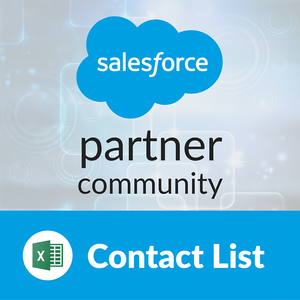 Salesforce Partner Community: Contact List
