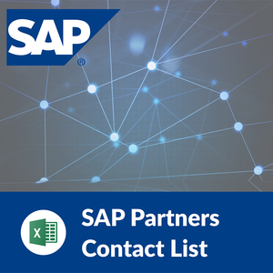 SAP Partners: Contact List