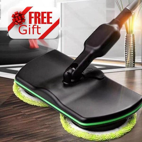 Wireless Rotary Electric Mop + Free Gift!