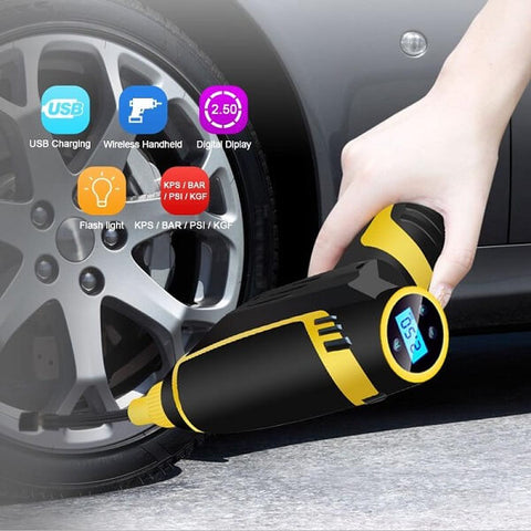 Digital LED Smart Car Air Compressor Pump