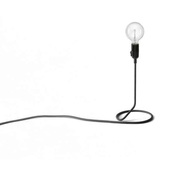 Cord table lamps versatile with it's industrial look. Suitable for all areas of the office.