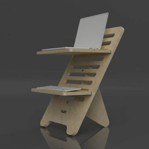 Standing Desk Kit - turn any desk into a standing deck with this stylish, design led standing desk kit.