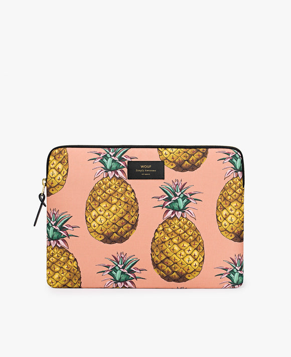 Pineapple laptop sleeve from Wouf