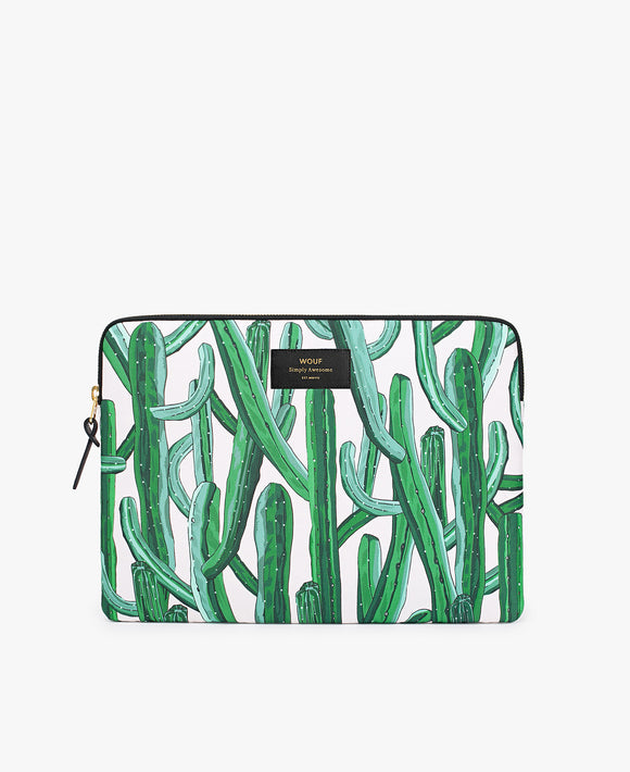 Wild cactus laptop sleeve from Wouf