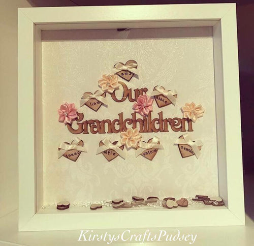 Our Grandchildren Frame up to 10 Names - The Perfect Gift Co.