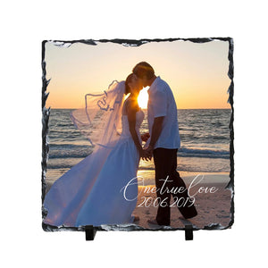 Wedding Slate 19cmx19cm
