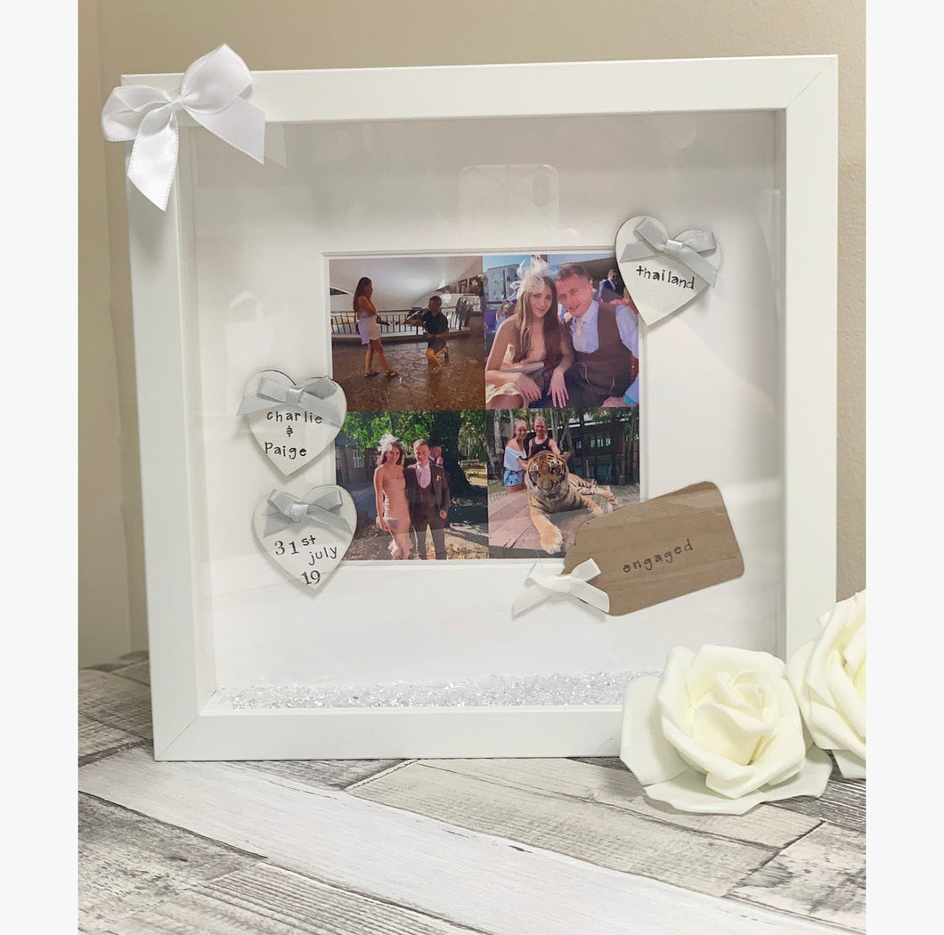 Engagement frame Present style 2 - The Perfect Gift Co.