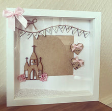 Personalised Christening Girl Frame - The Perfect Gift Co.
